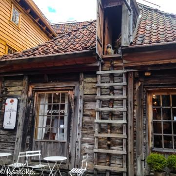 昔は炊事場として使われていた建物の一つ